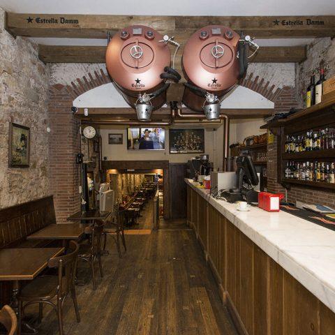 Guell Tapas Restaurante Las Ramblas Barcelona