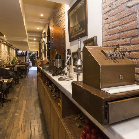 Guell tapa restaurante barcelona