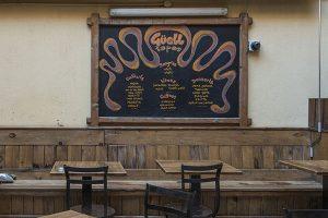 Terraza Restaurante Guell Tapas Barcelona